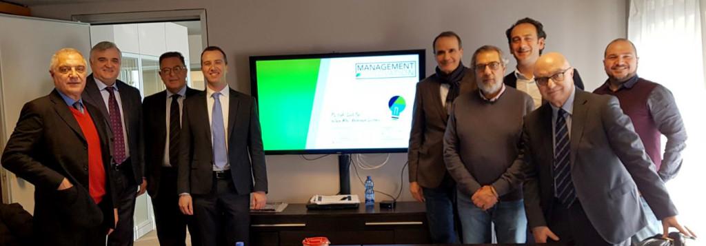 foto di gruppo prima riunione di Comitato Investimenti 2018 02 20 Milano